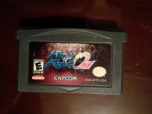 Final Fight One Nintendo Gameboy Advance