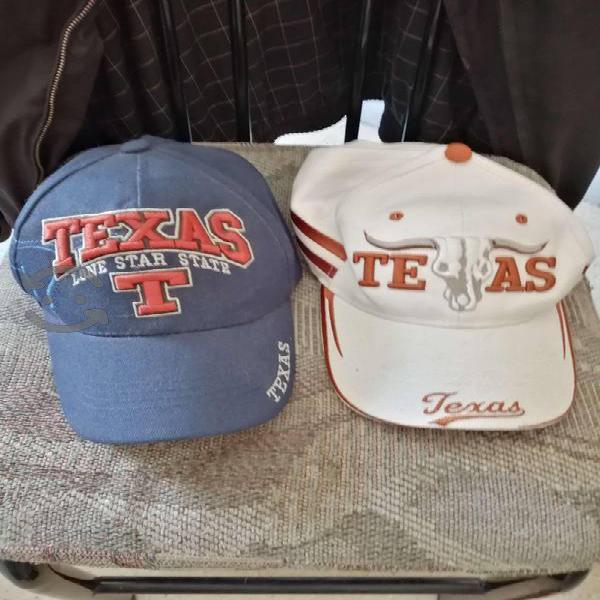 Juego de 2 Gorras de Texas