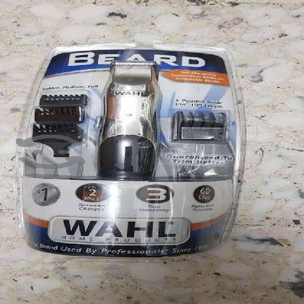 Maquina Wahl Recargable Especial Para Barba