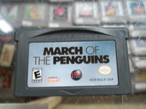 March Of The Penguins Nintendo Game Boy Advance Gba