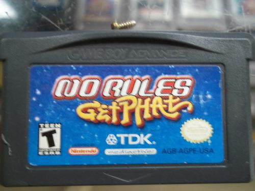 No Rules Get Phat Game Boy Advance Nintendo Gba Ds