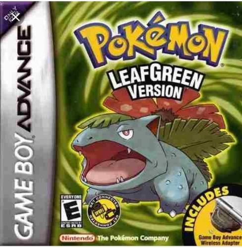 Pokemon Leaf Green Game Boy Advance Con Caja