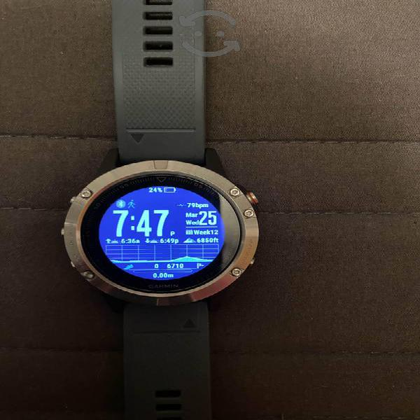 Reloj Garmin Fenix 5 Multideporte GPS