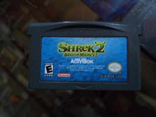 Shrek 2 Beg For Mercy Game Boy Advance