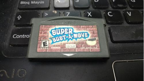 Super Bust A Move Gameboy Advance Nintendo Original