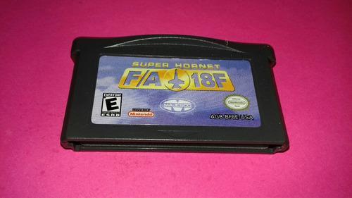 Super Hornet F/a 18f De Game Boy Advance,funcionando.