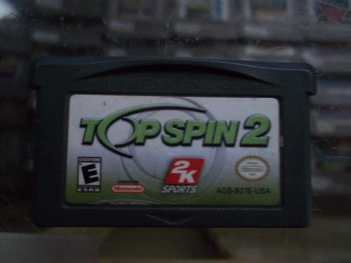 Top Spin 2 Game Boy Advance Nintendo Gba