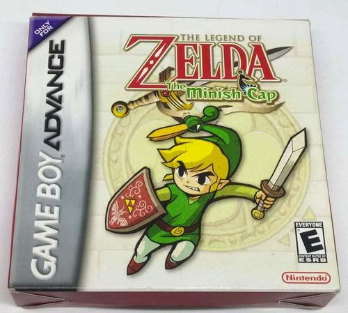 Zelda Minish Cap Nintendo Game Boy Advance Gba Retromex Tcvg