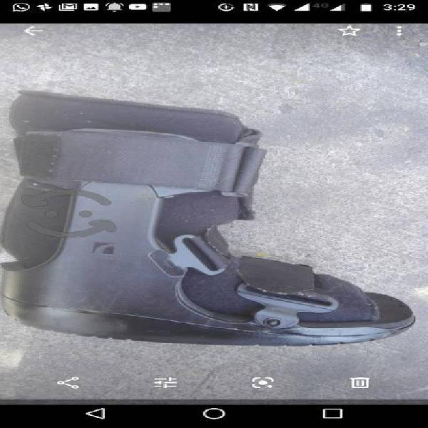 bota ortopedica walker, corta