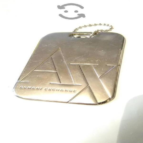 llavero Armani Exchange AX original