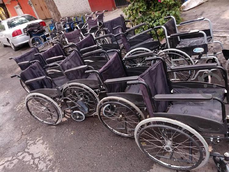 sillas de ruedas buena calidad, usadas
