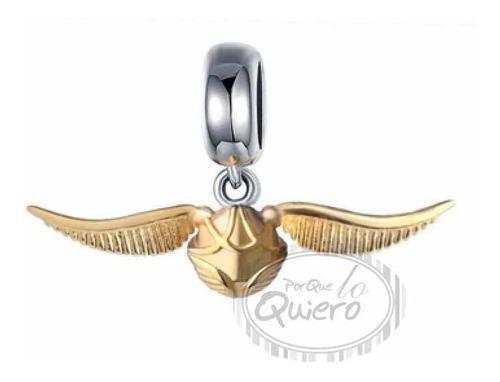 Charm 100% Plata Snitch Quidditch Harry Potter Para Pandora