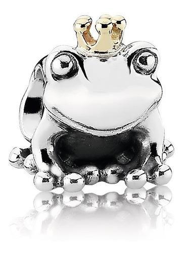 Charm Pandora Príncipe Rana Disney 100% Plata 925