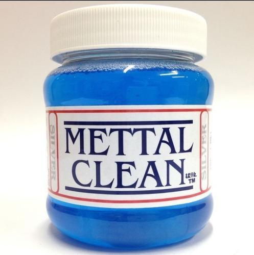 Liquido Limpiador De Joyeria Mettal Clean 260ml Limpia Plata