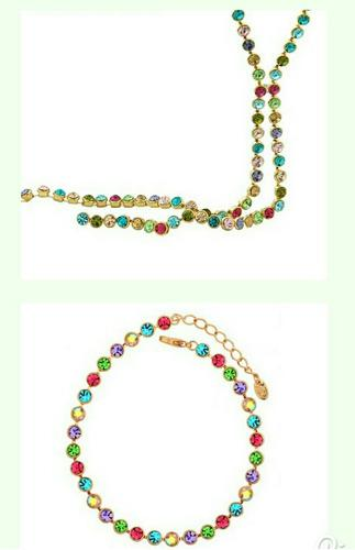 Set Collar Y Pulsera Swarovski Elements