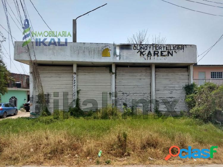Venta locales comerciales en el libramiento Tuxpan Veracruz,