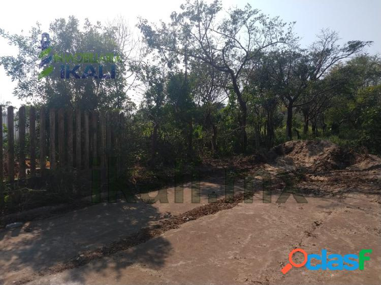 Venta terreno 698 m² Col. Petrolera Tuxpan Veracruz,