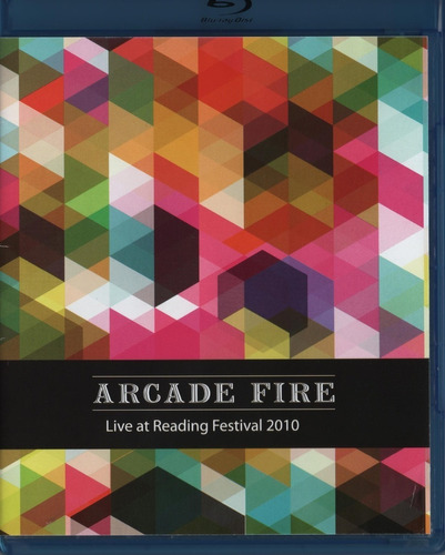 Arcade Fire En Vivo Live At Reading Festival  Blu-ray