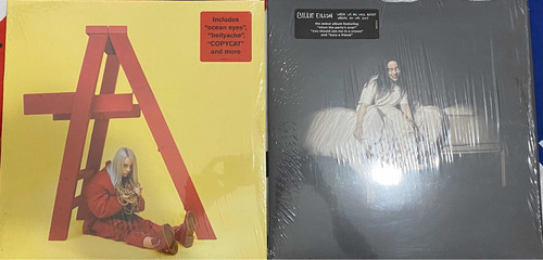 Billie Eilish Vinyl (2vinyl) Meses Sin Intereses