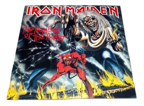 Iron Maiden - The Number Of The Beast (vinyl, Vinilo, Lp)