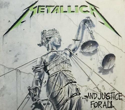 Metallica, And Justice For All 3cds, Nuevo Sellado