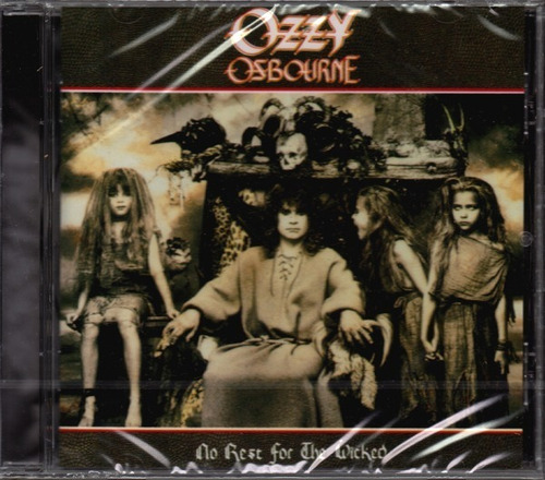 Ozzy Osbourne No Rest For The Wicked Cd Heavy Metal