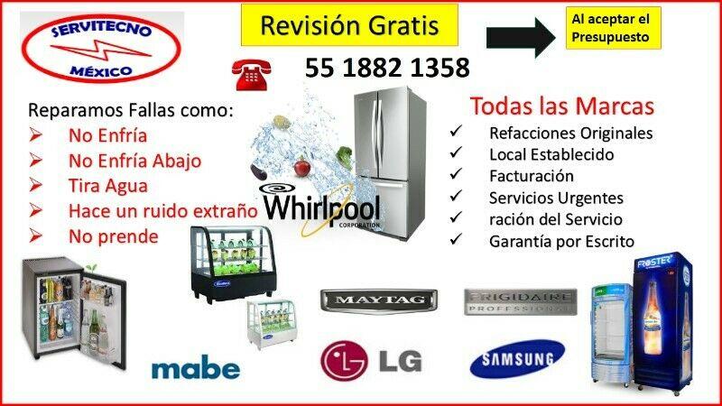 REPARACIÓN DE REFRIGERADORES Y CARGA DE GAS