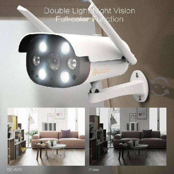 Digoo Dg W30 Cámara Ip Doble Luz Tipo Bala Visión