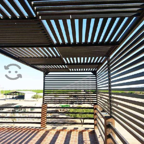 Fabricacion de tejabanes y estructuras metalicas