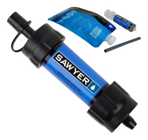 Filtro Portátil Mini Hasta 400 Mil Litros De Agua Potable