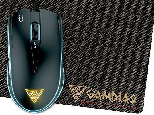 Gamdias Optical Gaming Mouse Con 6 Botones Inteligentes Dobl