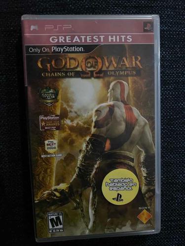 God Of War Chains Of Olympus Psp Playstation Nuevo Sellado