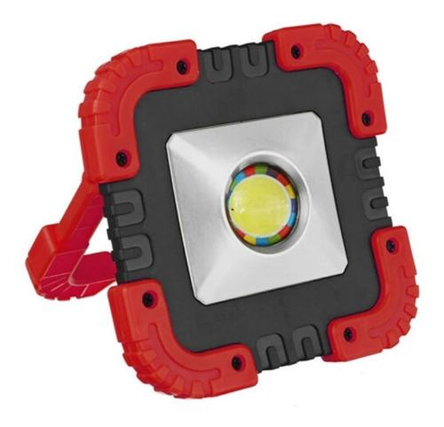 Lampara Linterna Reflector Led Solar Recargable Multiusos