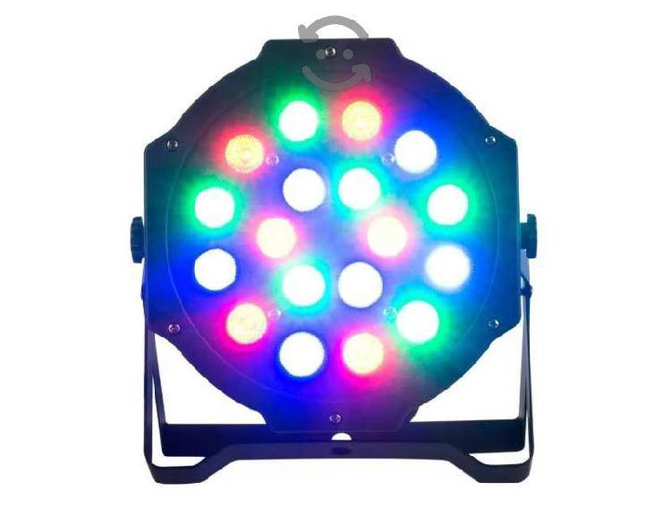Lámpara Par Led Rgb Dmx Luz Dj Disco
