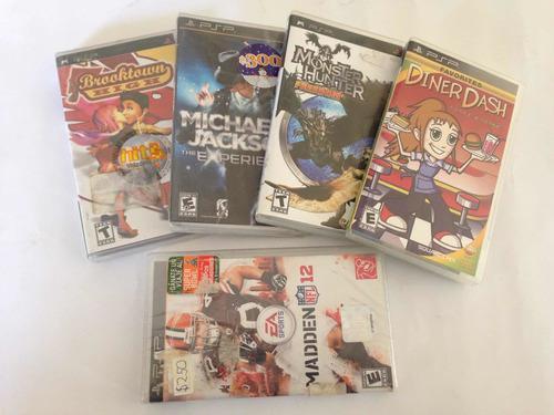 Lote De Juegos De Psp Playstation Portátil