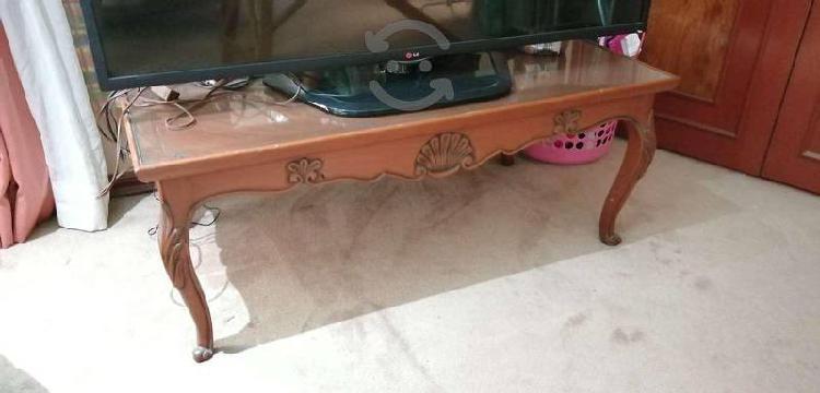 Mesa de centro vintage de madera