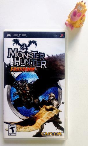 Monster Hunter Freedom Play Station Psp * Mundo Abierto Vg *