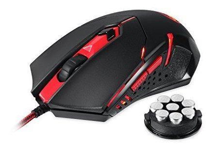 Mouse Para Juegos Redragon M601, Mouse Ergonómico Con Cable