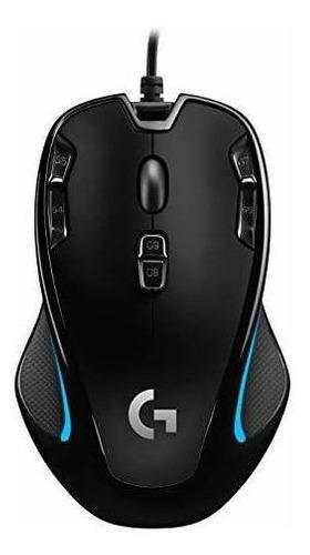 Mouse Óptico Ambidiestro Para Juegos Logitech G300s - 9