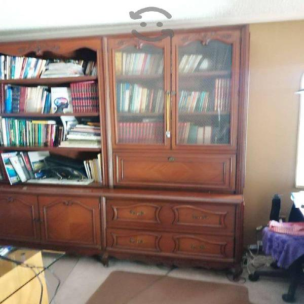 Mueble de madera oficina biblioteca