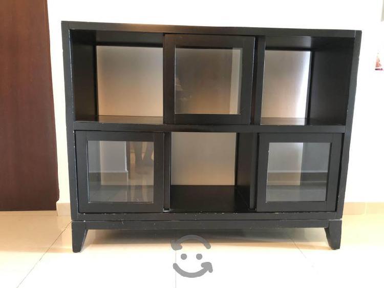 Mueble decoración/Librero de 6 espacios (Costco)
