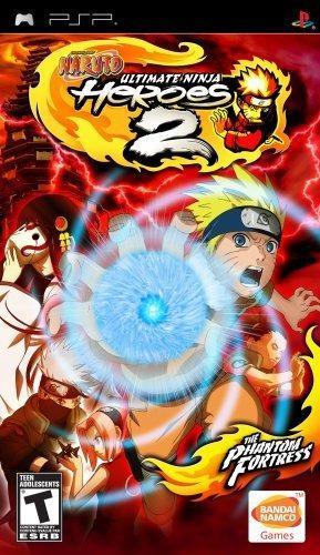 Naruto Ultimate Ninja Heroes 2 The Phantom Fortress Sony Psp