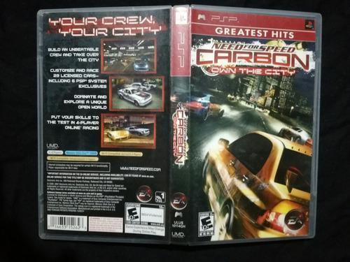 Need For Speed Carbon Playstation Portatil Psp