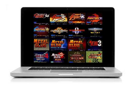 Neo Geo 181 Juegos Para Computadora Pc Laptop Con Emulador