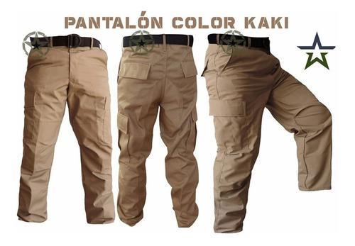 Pantalon De Bolsas Comando Tela Ripstop Antirrasgadura
