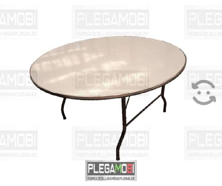 Paquete sillas cromadas y mesas redondas!!