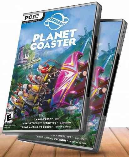 Planet Coaster Pc Completo + 3 Dlcs - Juegos Pc