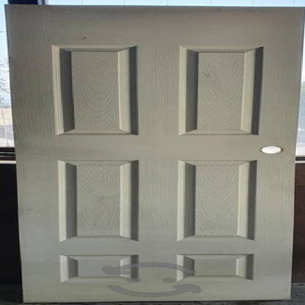 Puerta de Tambor Madera 6 paneles 3.5×70×213cm