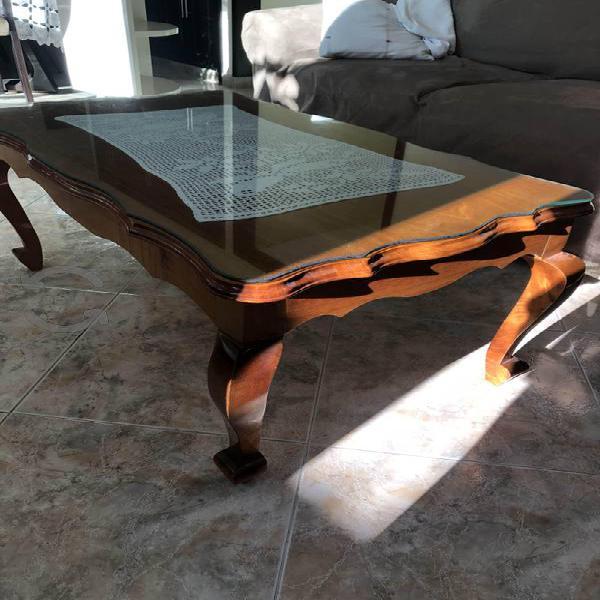 Set Mesa de centro y laterales (100% madera)