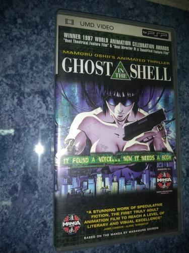 Umd Video Para Psp Película Anime Ghost In The Shell